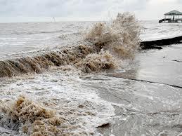 Biển ngày càng tiến sâu vào đất liền trong khi mặt đất đang có dấu hiệu chìm